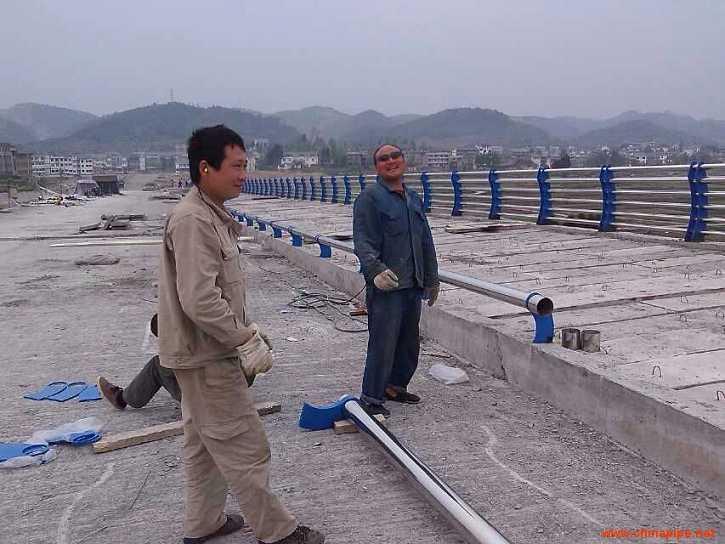 辽宁省朝阳不锈钢桥梁防护栏杆量大优惠