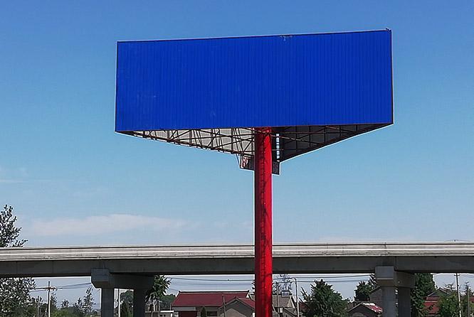 朝阳擎天柱广告牌制作公司--图纸设计