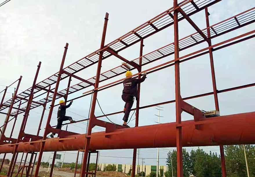 双塔单立柱制作厂家--  恒科