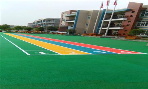 东至园林公司铺设塑胶网球场施工方案