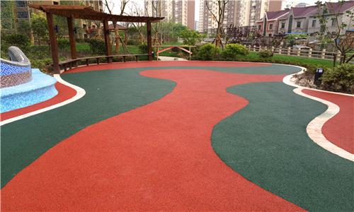 望江健身器材塑胶地面场地画线