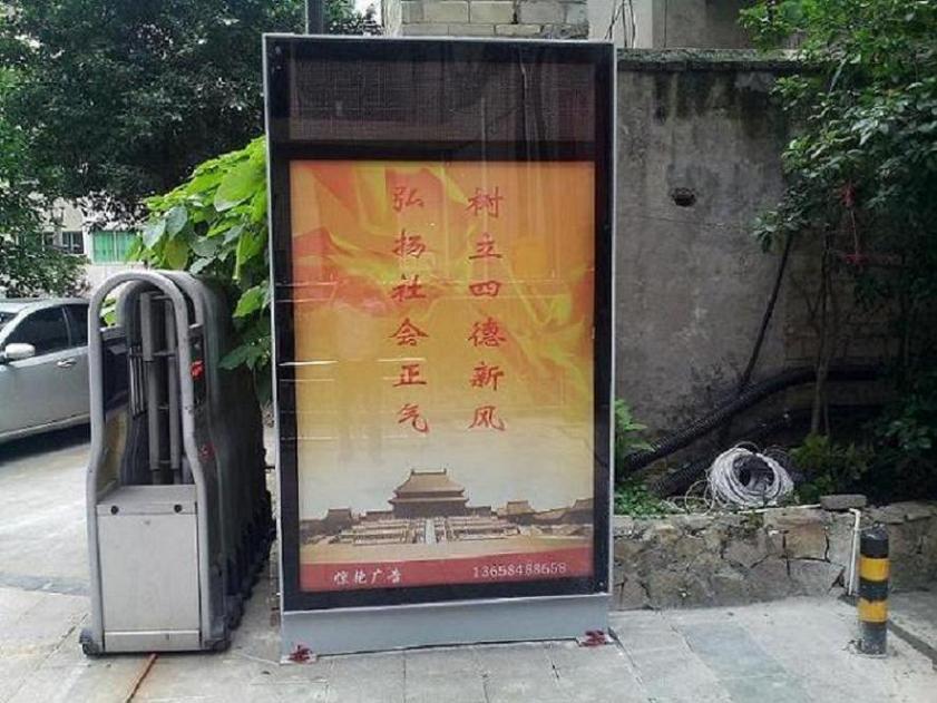 北京优质滚动灯箱立式滚动灯箱候车亭  制造商