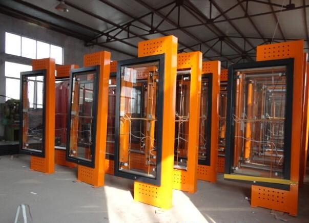 北京大型立式滚动灯箱灯杆灯箱厂家型号齐全