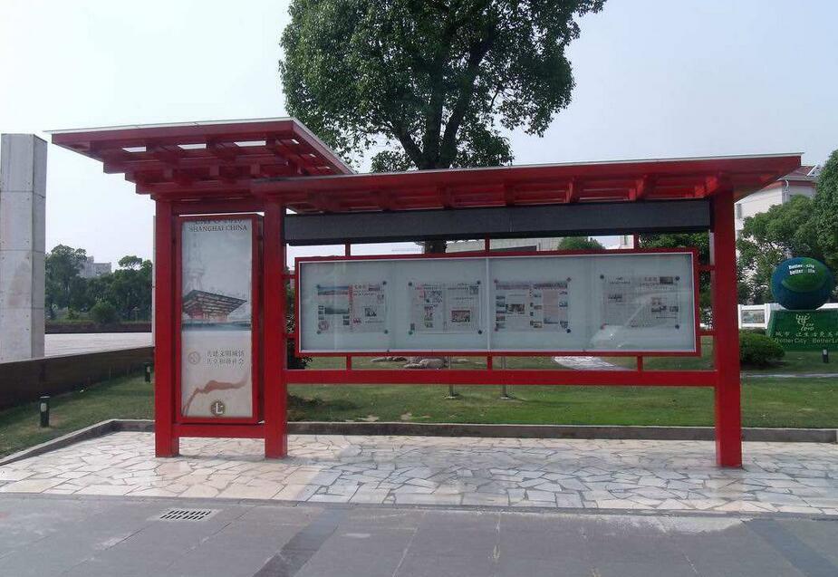 北京阅报栏制作生产