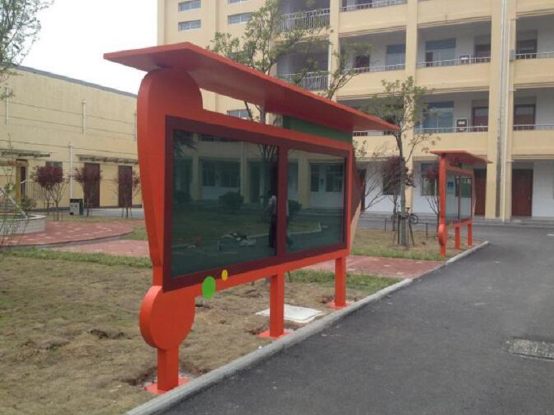 北京宣传栏公交候车亭异形宣传栏好评率高的生产厂家