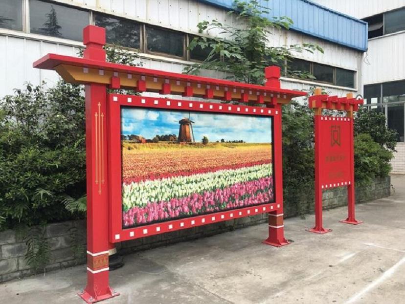 北京部队宣传栏文化阅报栏厂家制作经验丰富