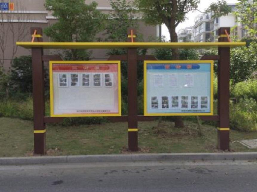 北京警务宣传栏文化阅报栏厂家制作经验丰富