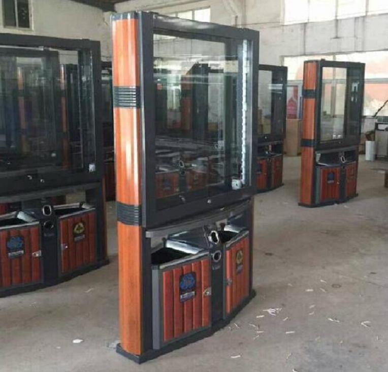 北京不锈钢广告垃圾箱零售