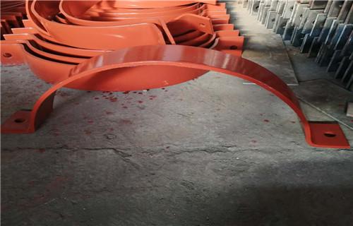 北京双螺栓保冷管夹专业制造