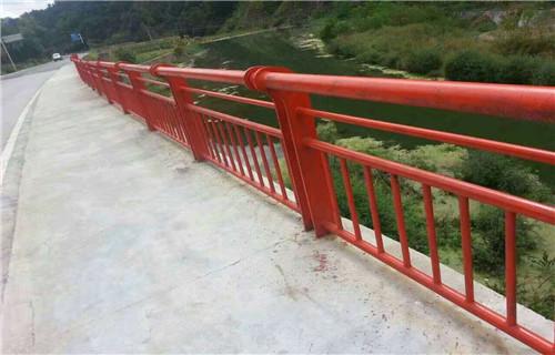 安庆不锈钢桥梁护栏外型美观