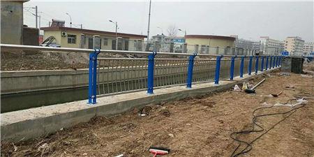 北京1米高桥梁护栏钢板立柱批发工厂