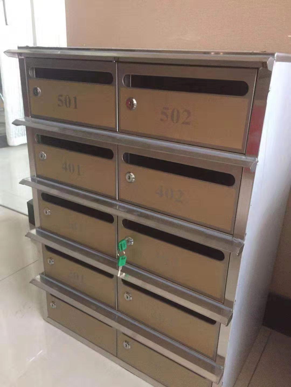 海西小区信报箱不锈钢信报箱