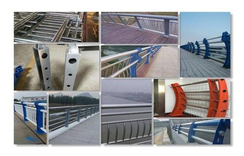 银川桥梁护栏立柱配件做工精细