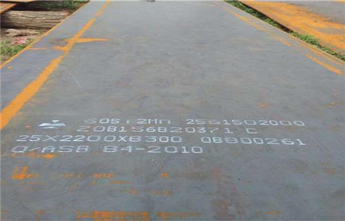 广东省广州白云热处理承钢65MN弹簧板批发商中群特种钢板
