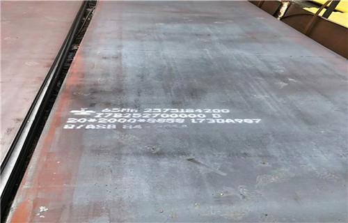 云南普洱市65mn钢板市场行情中群特钢