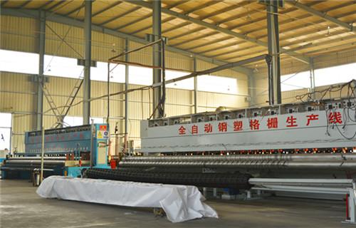 上海钢塑复合格栅140kn工厂直销