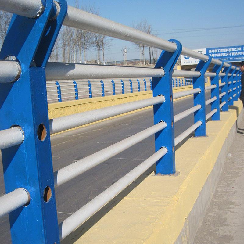 河北张家口桥梁灯光护栏立柱底座
